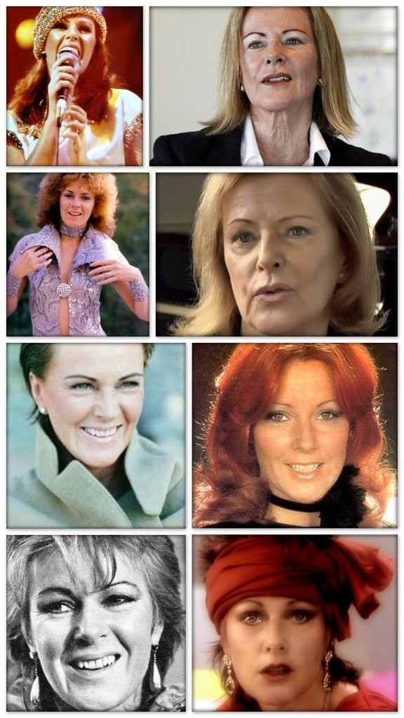 Anni-Frid Synni Princess Reuss of Plauen / 15 November 1945 / Born in (Bjørkåsen, a small village in Ballangen near Narvik, in northern) Norway to a Norwegian mother and a German father